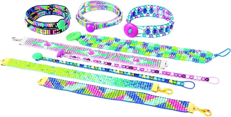 Tisser des Bracelets damitiés SMU-806 Jeux pour Filles et Entre Amies Fabriquer des Bracelets Fantaisies et Idéal pour Offrir BUKI WO806 Style Me Up