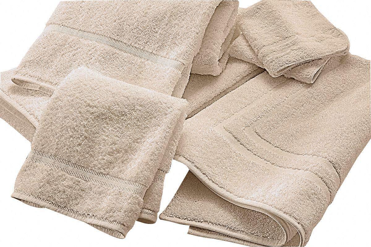 66'' x 35'' 100% Cotton Bath Sheet Towel, Ecru; PK12