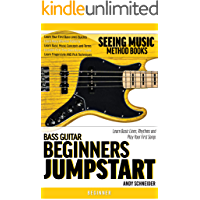 Bass Guitar Beginners Jumpstart: Learn Basic Lines, Rhythms and Play Your First Songs (Seeing Music) book cover