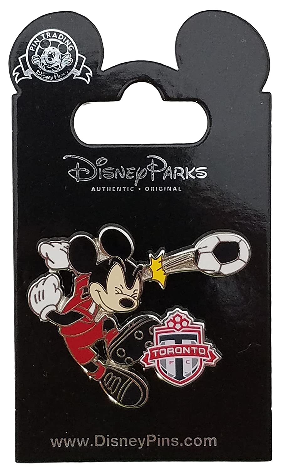 Disney Pin - Mickey Mouse Soccer Pin - Toronto