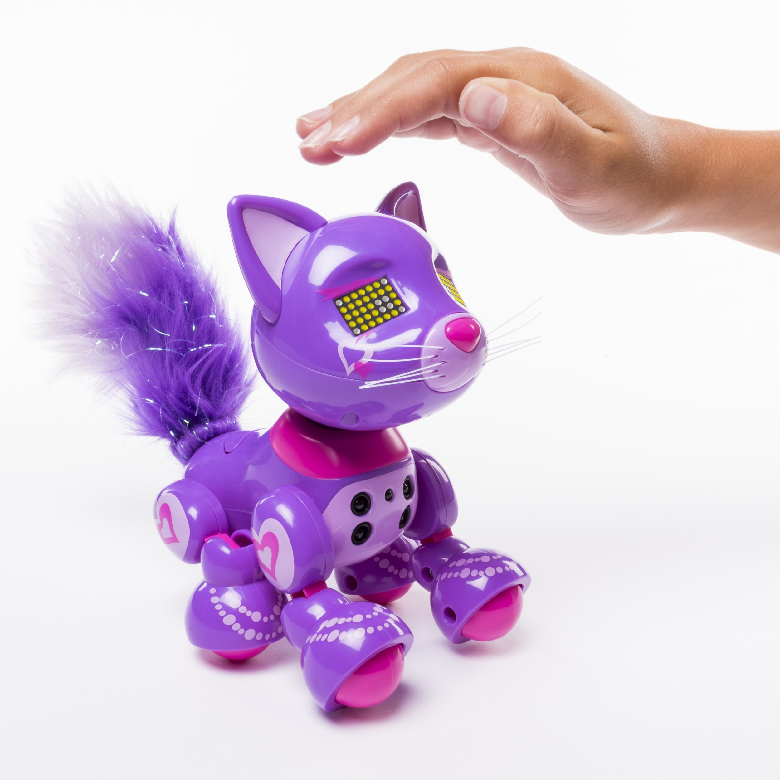 Zoomer Meowzies, Posh, Interactive Kitten with Lights, Sounds and Sensors by Zoomer (Image #6)