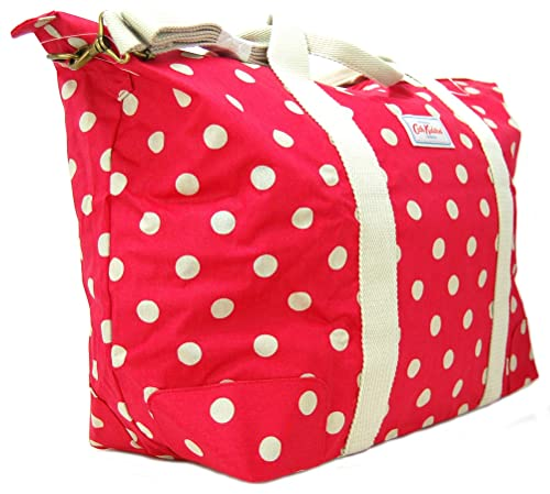 attractive designs custom outlet boutique Cath Kidston Foldaway Holiday Bag/Holdall 'Button Spot' in ...