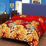 IWS 3D Printed 160 TC Polycotton Single Bedsheet - Multicolor