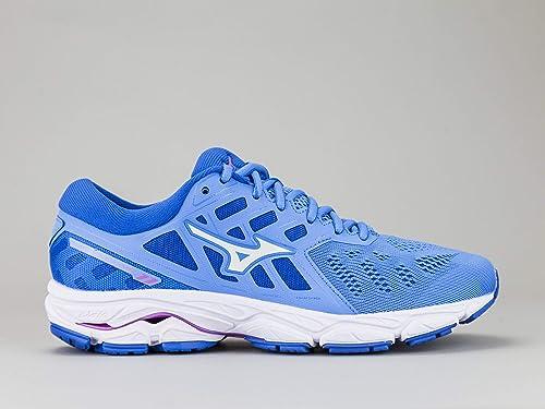 Mizuno Wave Ultima 11, Zapatillas de Running por Mujer, Azul (MalibuBlue/White/DirectoireBlue 02), 36.5 EU: Amazon.es: Zapatos y complementos