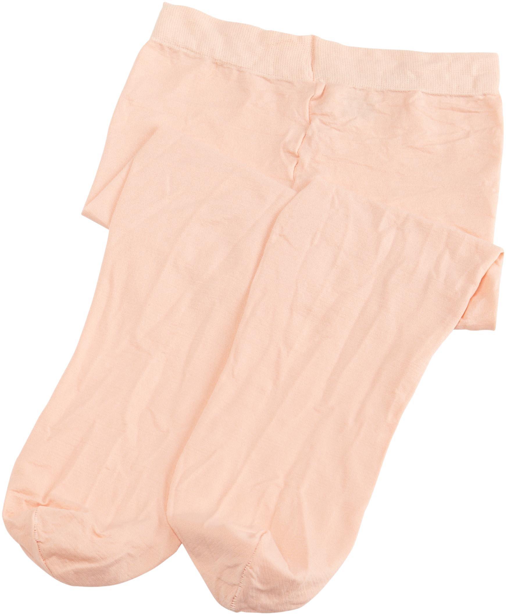 Danskin Little Girls' Student Footed Tight,Ballet Pink,S (4/6)