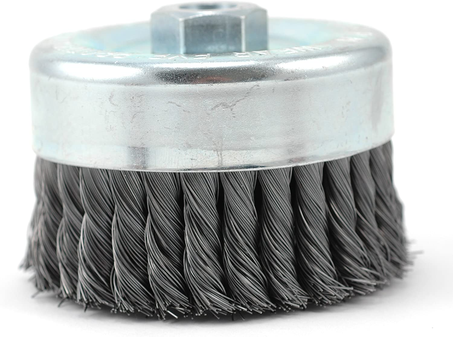 Hot Max 26060 3-Inch Crimped Wire Cup Brush Coarse 5//8-Inch-11NC