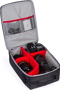 Amazon Com G Raphy Camera Bag Insert Camera Customizeable Insert Protection Bag For Slr Dslr Cameras Nikon Sony Olympus Canon Kodak Fujifilm Panasonic Etc Lenses And Other Accessories Electronics
