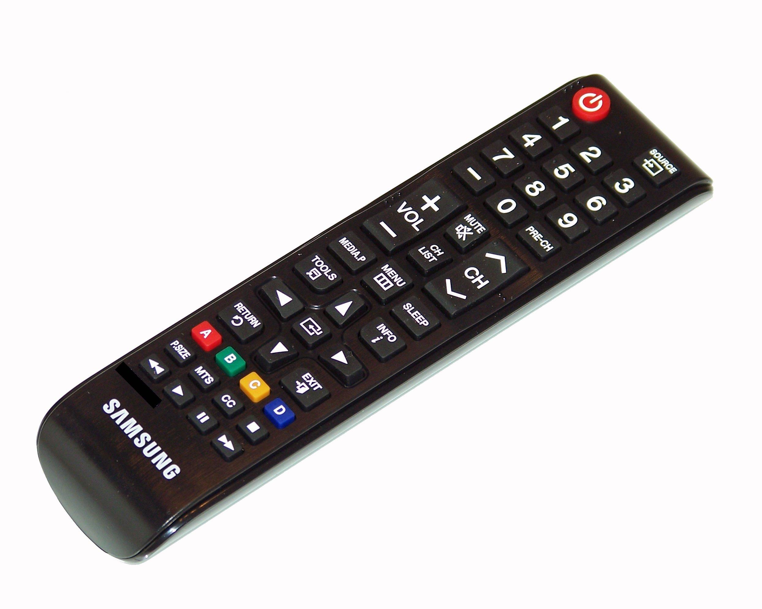 OEM Samsung Remote Control Originally Shipped With Samsung PN64E533D2FDXN, UN32EH4003C, UN32EH4003CXZA, UN32J4000AFXZA, UN32J4000BF, UN32J4000BFXZA by Samsung