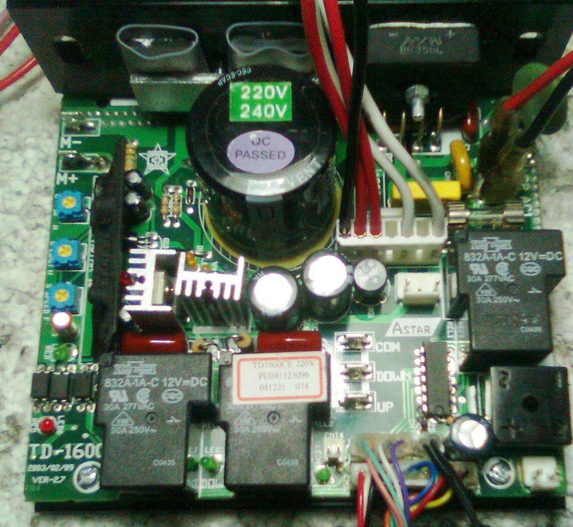 Astek Circuito Impreso para Control Motor Alfombra Ruedas/Alfombra ...