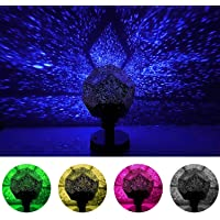 MinGz Star Night Light Projector, DIY Sky Projection Night Lamp 12 Constellation Lights for Kid Baby Bedroom,
