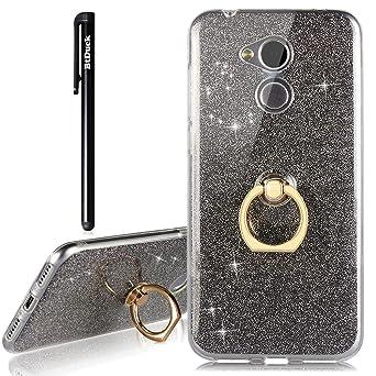 5c51c4e3e0d1 Coque Pour Huawei Honor 6A Étui Silicone Transparente , Btduck Case Cover  AntiChoc Boucle d