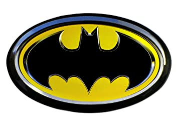 Amazoncom DC Batman Logo Car Magnet Toys Games