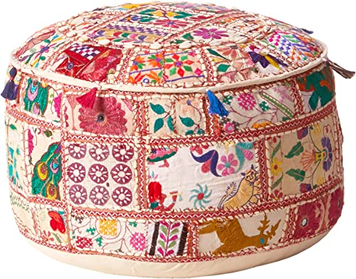 Surya Decorative Pouf