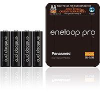 Panasonic Eneloop pro, Ready-to-Use Ni-MH accu, AA Mignon, 4-pack, verpakking als opbergtas, min. 2500 mAh, 500…