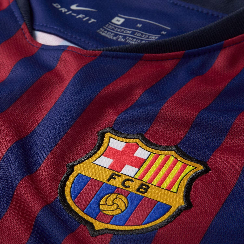 Nike Mens Soccer Barcelona Home Jersey