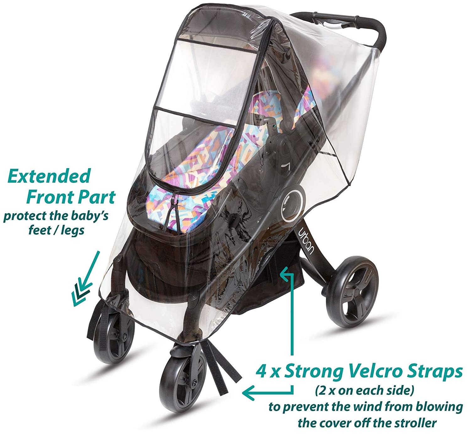 Strollers Accessories Qualified Raincoat For A Stroller Universal Strollers Pushchairs Baby Carriage Waterproof Dust Rain Cover Windshield Stroller Accessories
