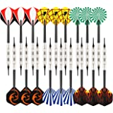 Viare 18 Pcs 6 Styles Soft Tip Darts with Soft Tip Points for Electronic Dartboard,17 Grams