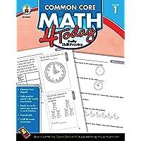 Carson Dellosa | Common Core Math 4 Today Workbook | 1st Grade, 96pgs (Common Core 4 Today)