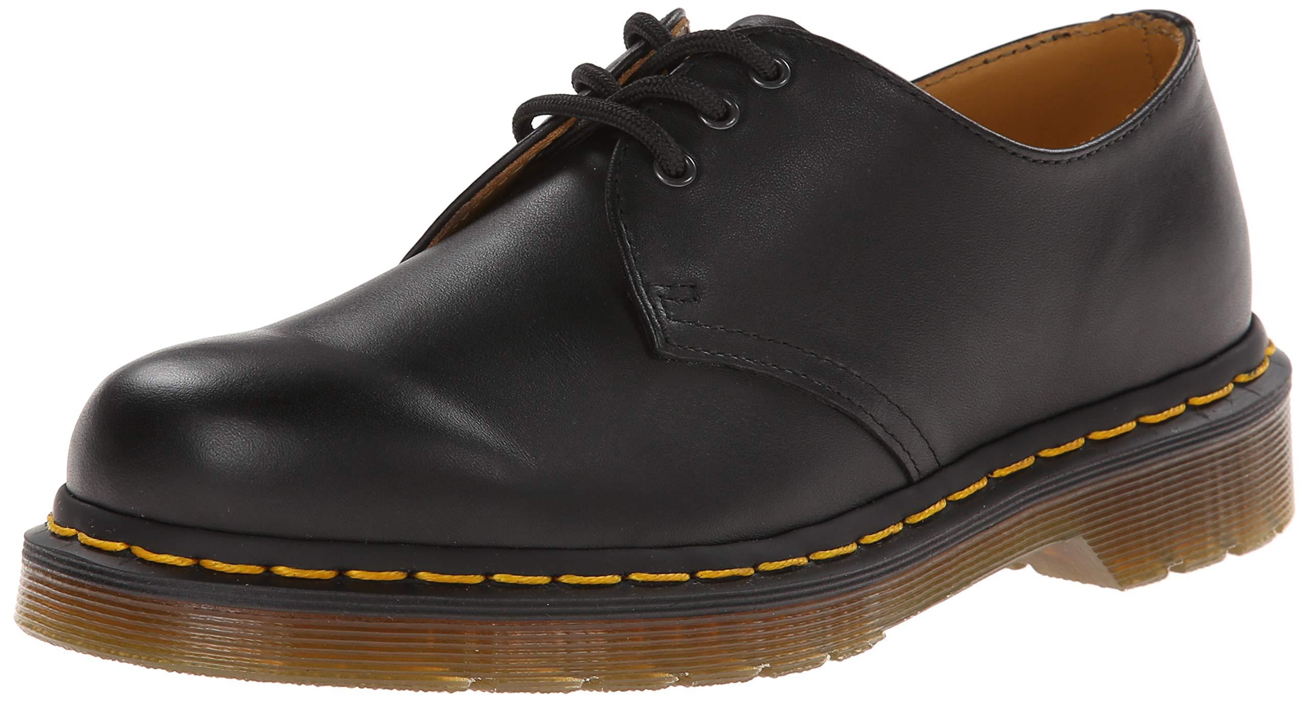 Dr. Martens 1461, Zapatos de Cordones para Hombre, Negro (Black),