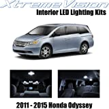 XtremeVision Interior LED for Honda Odyssey 2011-2015 (10 Pieces) Pure White Interior
