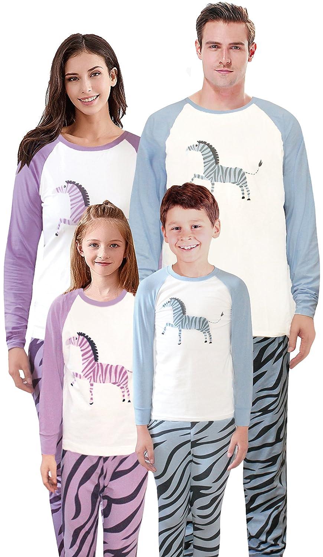 Family Matching Pajamas Horse Pjs for Boys and Girls Sleepwear Kids Cotton PJs Pants Set