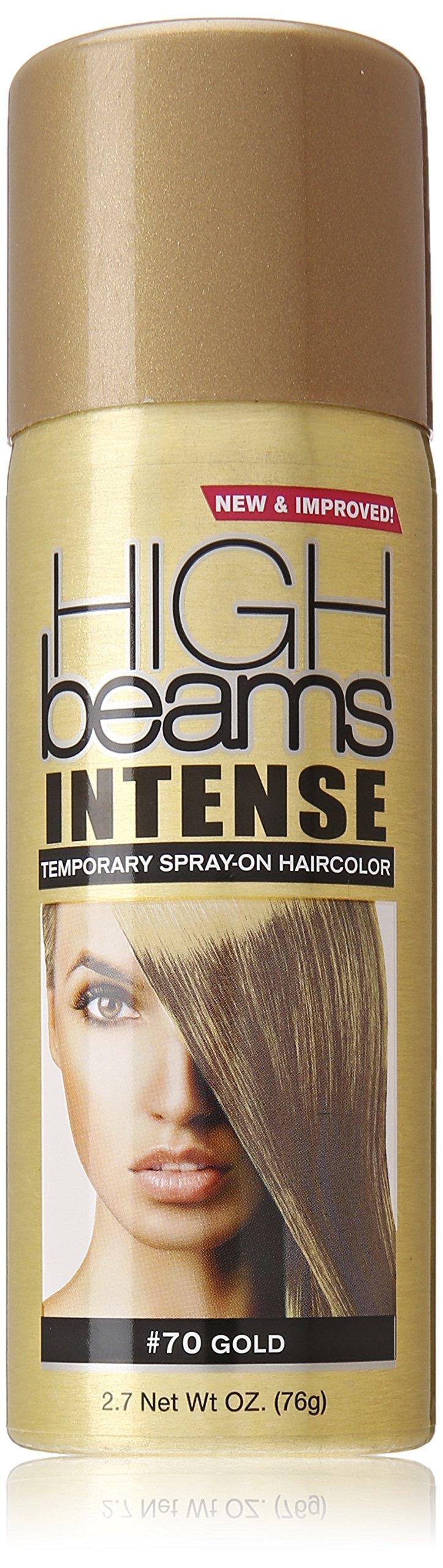 Amazon High Beams Intense Temporary Spray On Hair Color Gold