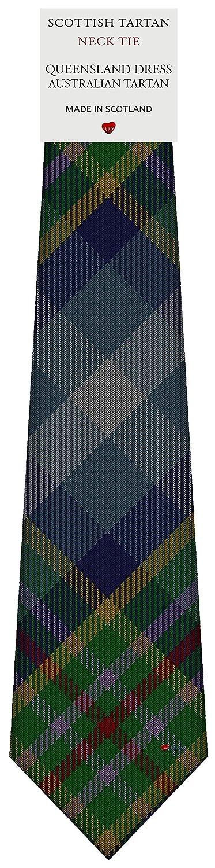 Mens Tie All Wool Made in Scotland Queensland Dress Australian Tartan