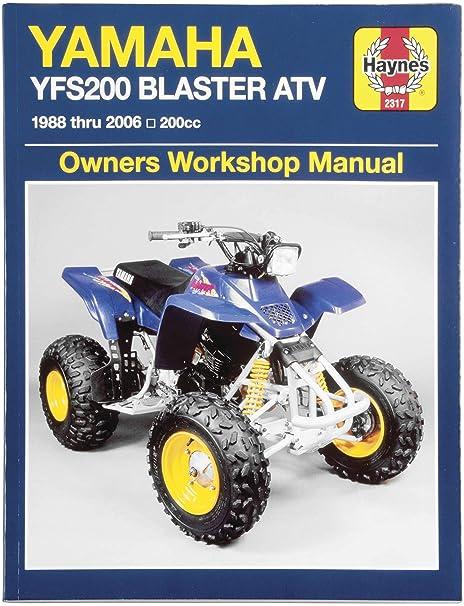 yamaha blaster owners manual