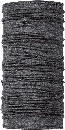 Buff Merino Wool Merino Multifunktionstuch Solid Denim