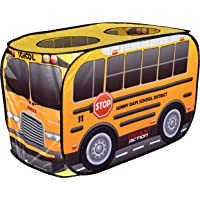Sunny Days Entertainment 320099 Pop Up School Bus - Indoor Playhouse for Kids | Yellow Vehicle Toy Gift for Boys and…