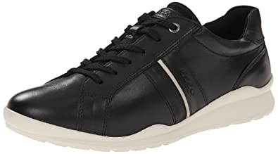 Ecco Footwear Womens Mobile III Casual Sneaker Flat, Black, 40 EU/9-