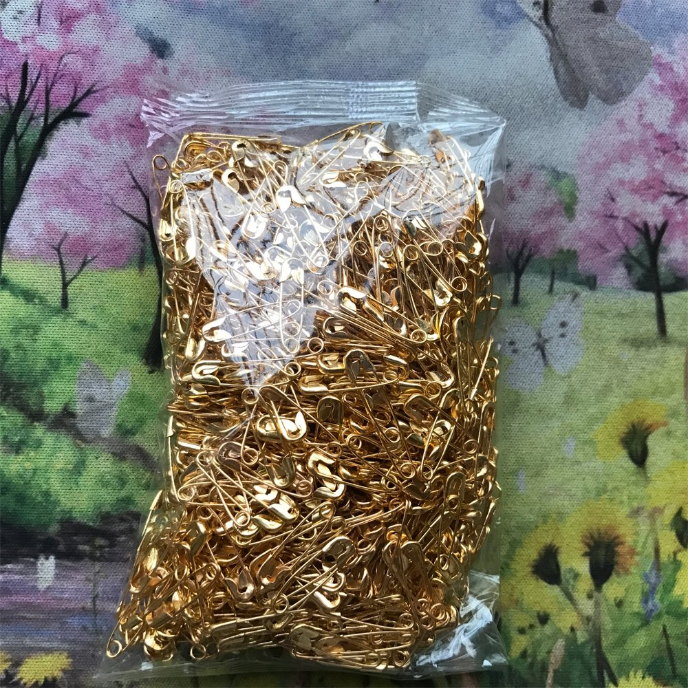 wholesales for garment hang tag DIY Safety Pins Brooch Jewelry Accessory Colors jewelry accessories 19mm Gold ChooseU 1000 pcs small nickel plated safety pins 4//5 length