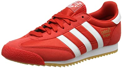 adidas Dragon OG - BB1267 - Color White-Red - Size: 8.0