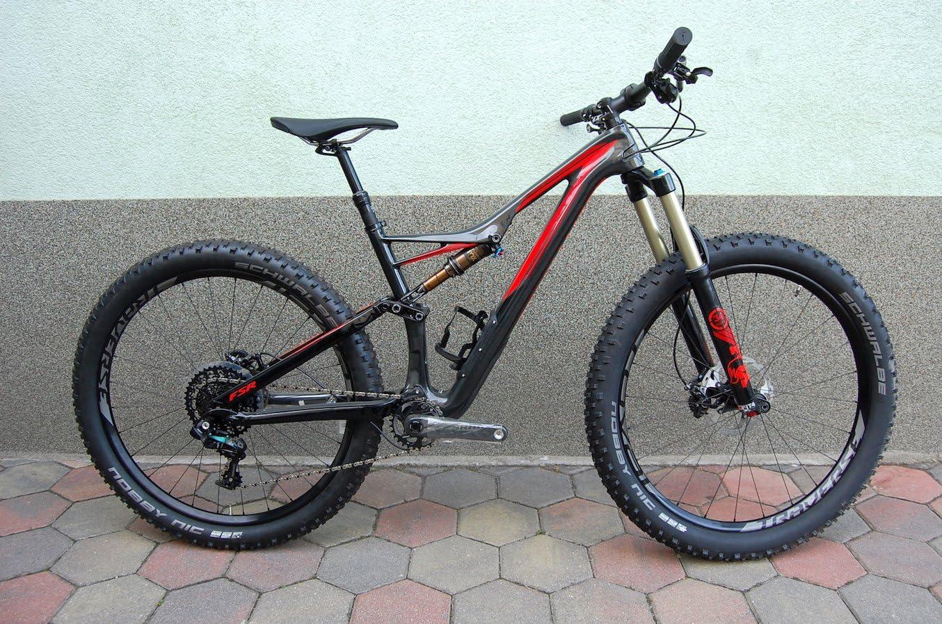 Specialized stumpjumper FSR Expert 6 fattie – Carbon Mountain Bike – 650B + – 2016 – Size M/43 cm: Amazon.es ...