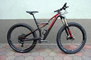 Specialized stumpjumper FSR Expert 6 fattie – Carbon Mountain Bike – 650B + – 2016 – Size M/43 cm: Amazon.es: Deportes y aire libre