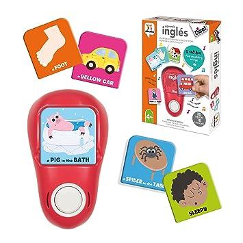 Diset AprendeInglés electrónico + 4 años Juguete educativos Aprende Inglés 62322: Amazon.es: Juguetes y juegos