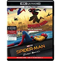 Spider-Man 2 Movies Collection - Spider-Man: Into the Spider-Verse + Spider-Man: Homecoming (4K UHD)