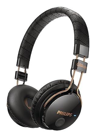 Philips SHB8000BK - Auriculares de diadema abiertos Bluetooth, negro: Amazon.es: Electrónica