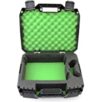 CASEMATIX Travel Case Compatible with Xbox One S - Hard Shell Xbox One S Carrying Case with Protective Foam Compartments…