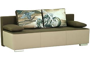 Coche Moderno cómodo sofá Cama con Almacenamiento Superficie ...