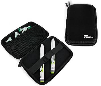 Garantie de satisfaction à 100% date de sortie prix plancher Etui rigide noir pour diabétiques : transportez votre pompe/stylo à  insuline et lecteur de glycémie (ETUI VENDU VIDE)
