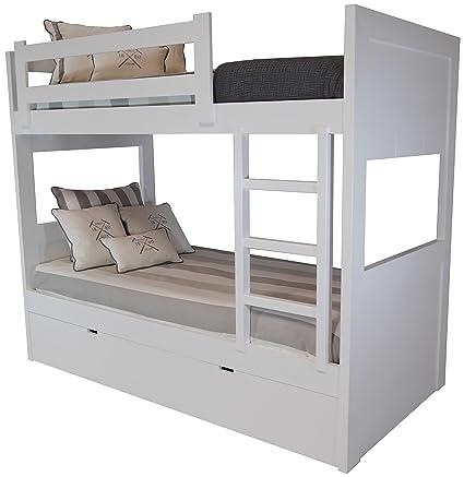 Sueñomueble - Litera 3 camas dm(mdf) 4 cms, no melamina. lacada en ...