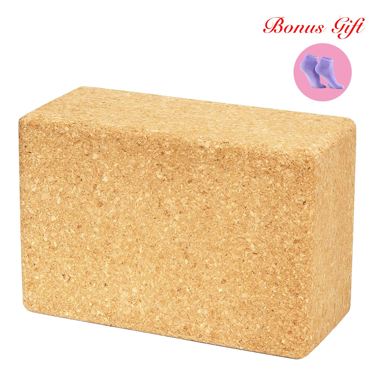 Corcho bloque de Yoga ladrillo corcho bloque de madera ...