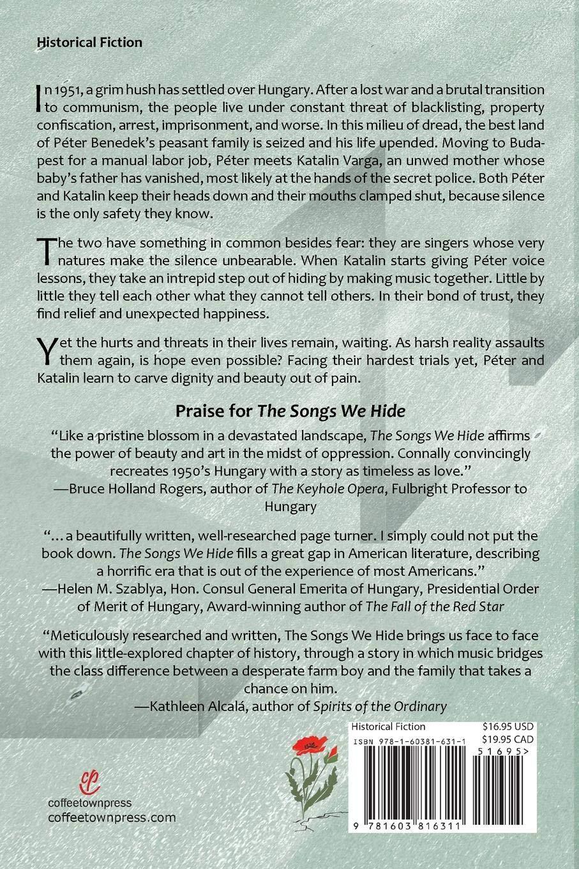 The Songs We Hide: Connie Hampton Connally: 9781603816311