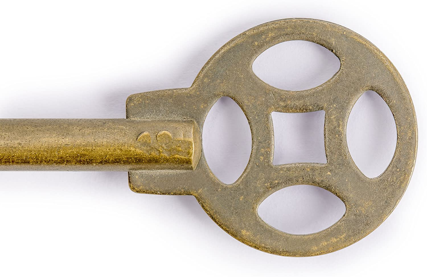"""CBH 2 Chinese Brass Coin Money Replacement Keys 4-1//2/"""""""
