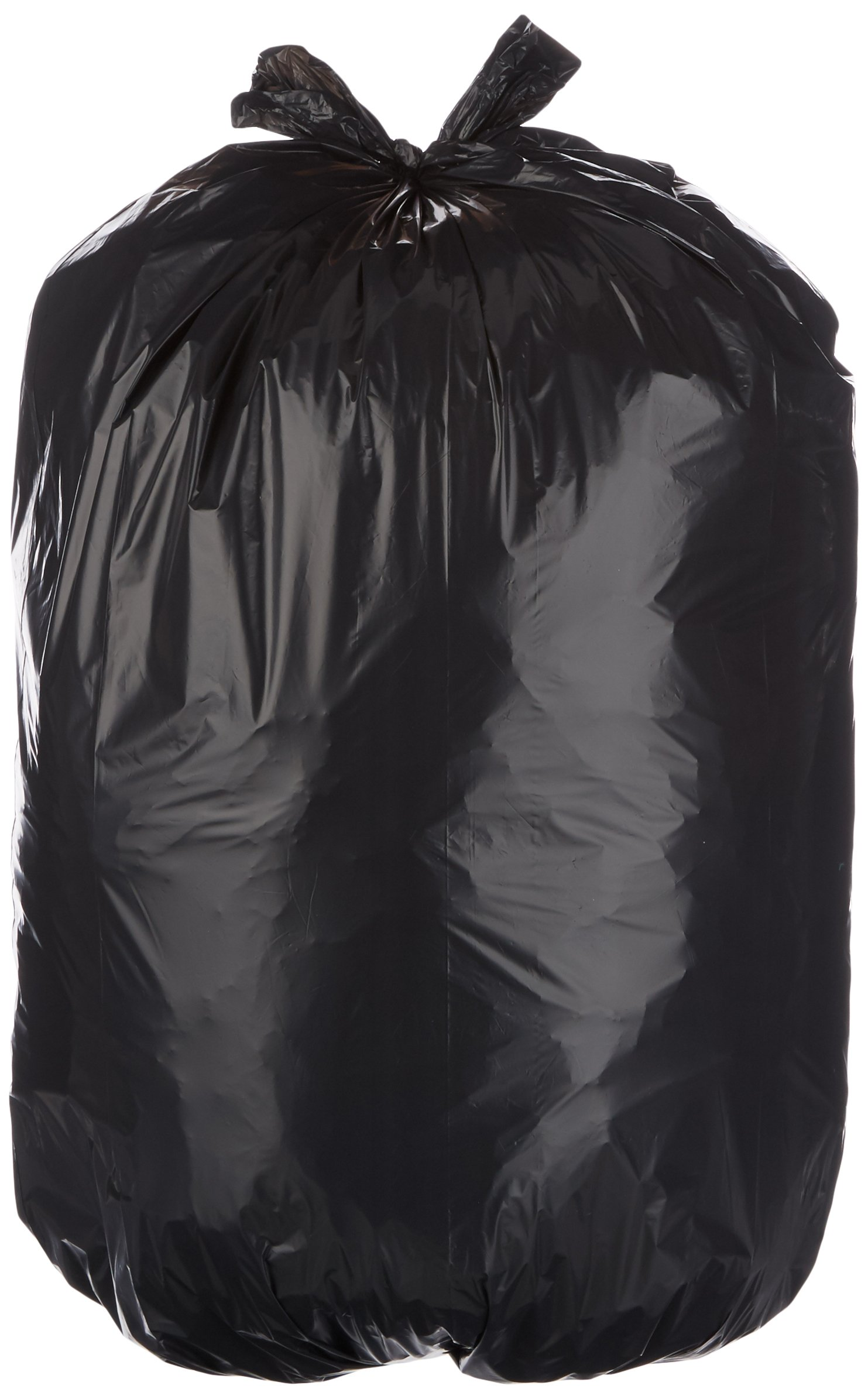 AmazonBasics 23 Gallon Slim Trash Can Liner Bag, 1.1 mil, Black, 250-Count by AmazonBasics