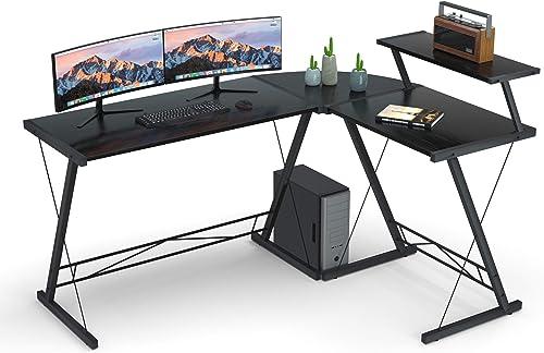 Bigger L Shaped Gaming Desk L Desk Gaming Computer Corner Desk