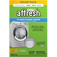 Affresh Washing Machine Cleaner, 6 Tablets | Cleans Front Load & Top Load Washers, Including He
