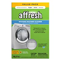 Affresh W10501250 Washing Machine Cleaner, 6 Tablets: Cleans Front Load and Top...