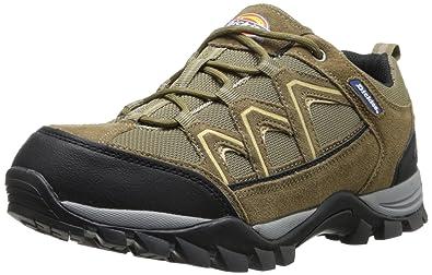 Mens Solo Soft Toe Work Shoe,Brown,8 D(M) US Dickies